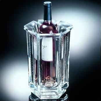 "Polka-Dot Penguin Exclusives   Grainware Regal Wine Bucket ""F"" $85.00"